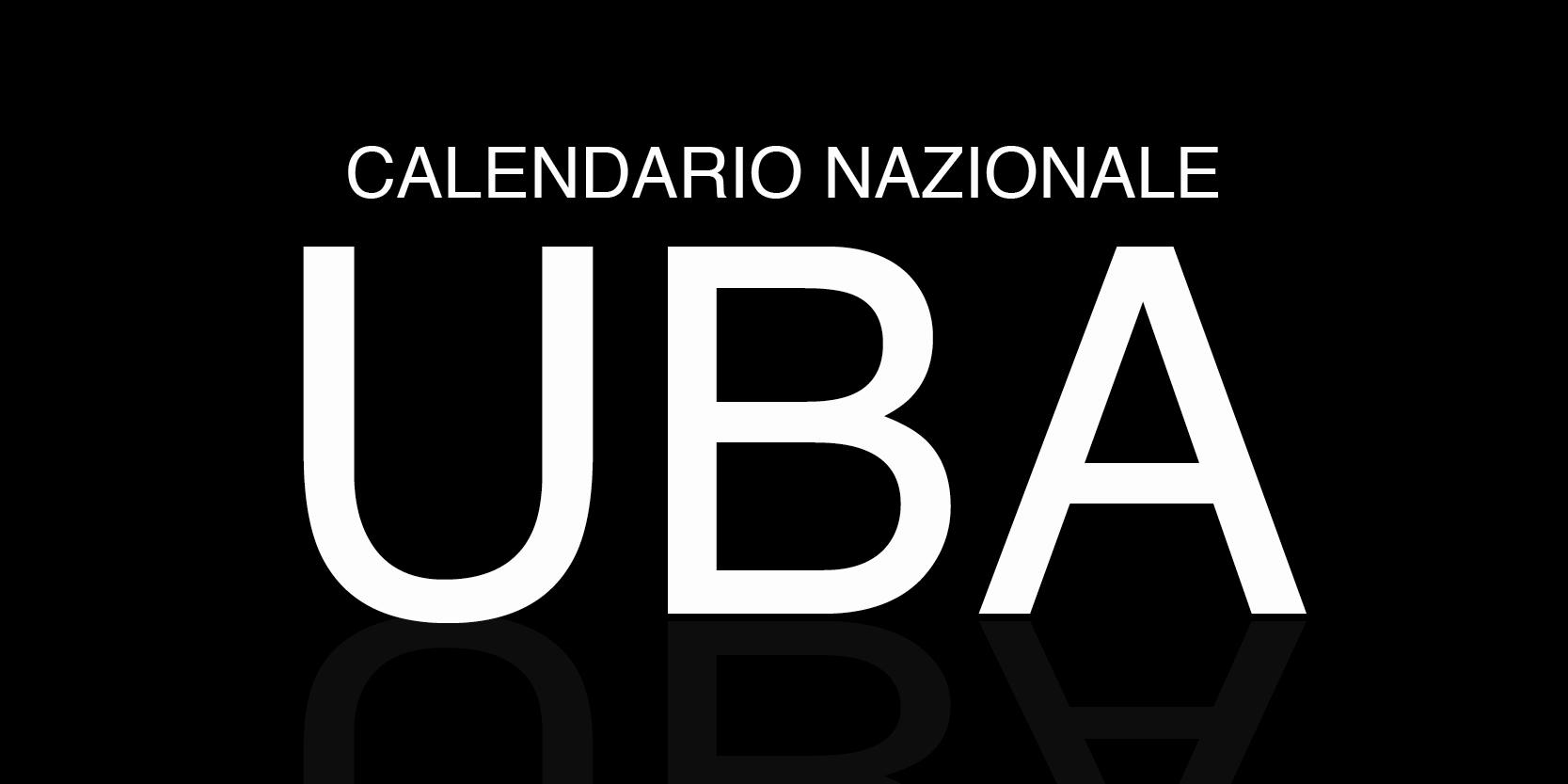 Calendario UBA