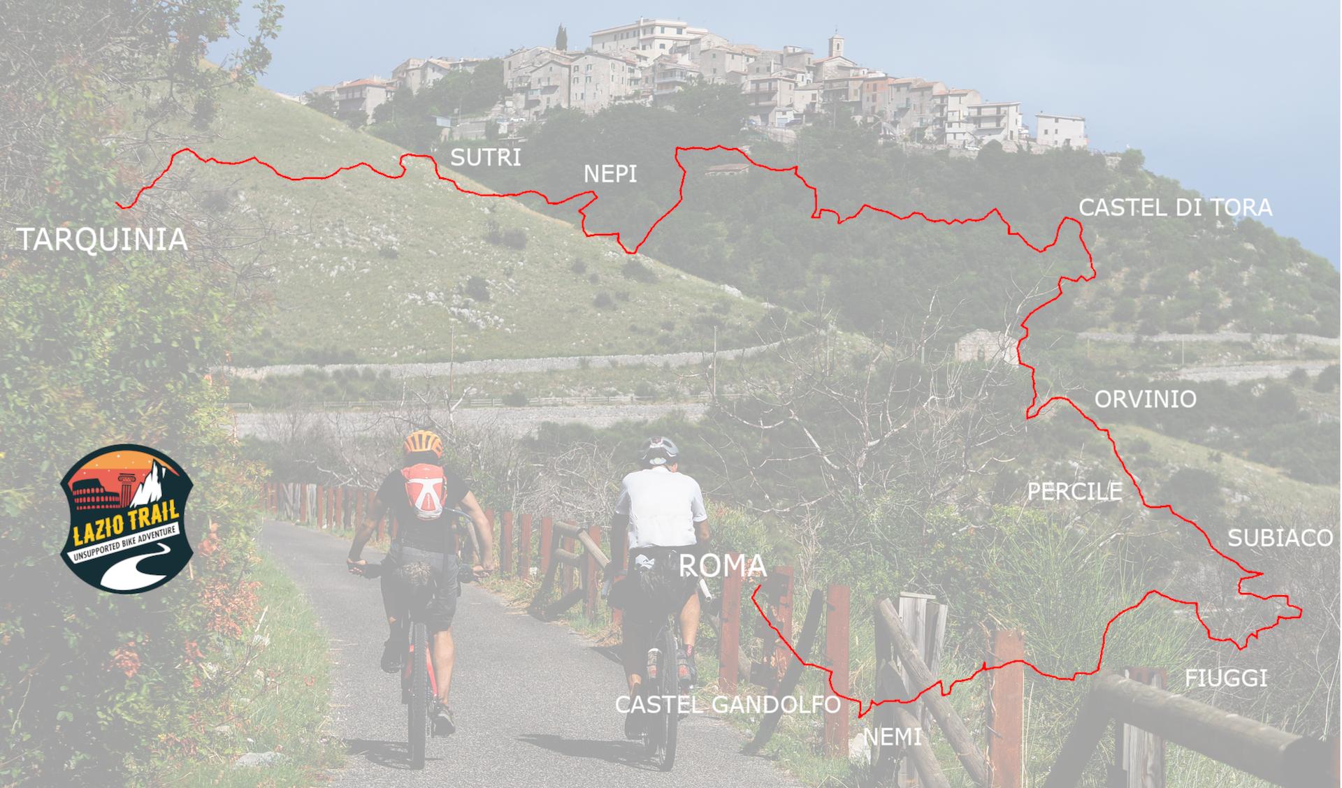 Route Lazio Trail 2021